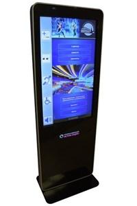 Информационный терминал ISTOK 55P (55 дюйма), со встроенной индукционной системой, с ПО для инвалидов INVA TOUCH