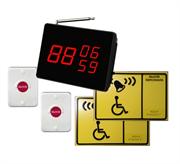 Универсальная система вызова персонала инвалидов для входа и санузла APE510.2