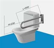 Поручень для туалета настенный стационарный