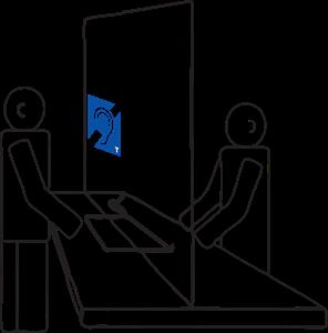 Индукционная система DSTRANA CTC-120 для кассовых и билетных окон