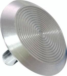 Тактильный индикатор D35мм алюминий на штифте