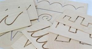 Трафареты-прописи для письма