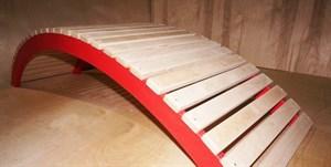 Мостик массажный деревянный
