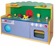 Кухня детская деревянная малая М-4