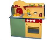 Кухня детская деревянная компактная М-159
