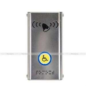 Антивандальная кнопка вызова персонала из нержавеющей стали AISI 304 182 x 95 x 25мм