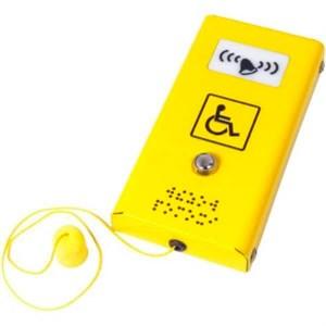 Антивандальная кнопка вызова персонала со звуковым сигналом и шнурком СТ3