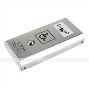 Антивандальная кнопка вызова персонала со звуковым сигналом AISI 304