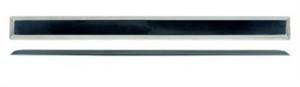Тактильный индикатор полоса из алюминия для приклеивания