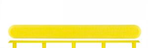 Тактильный индикатор полоса ПУ на штифте