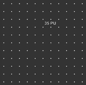 Трафарет для тактильных индикаторов D35мм со штифтом