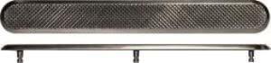 Тактильный индикатор полоса шириной 25 мм из нержавеющей стали на штифте