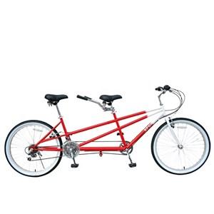 Двухместный велосипед-тандем