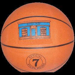 Баскетбольный мяч звенящий