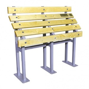 Скамья для инвалидов из стали с порошковой покраской 1060*1200*360 мм