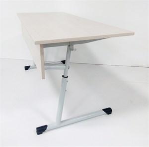Стол ученический двухместный  регулируемый по высоте от 700 мм (5-7гр.)