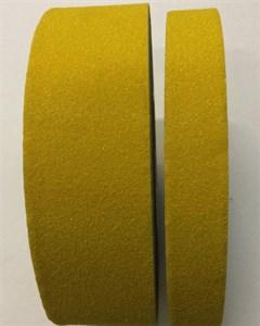 Лента формуемая абразивная самоклеющаяся для неровных поверхностей желтая, 25 мм