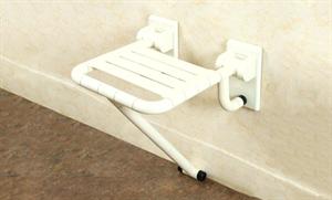 Сиденье для душа, белое 32х40,5 см
