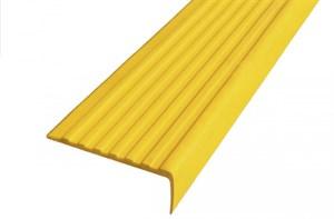 Самоклеящийся угол (цвет желтый) 55х19 мм в рулоне 12,5 м