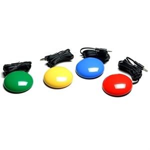 Комплект из 4-х проводных кнопок 125 мм