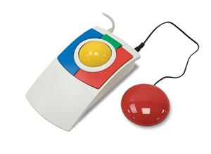 Роллер-мышь для обучения детей управлению компьютером