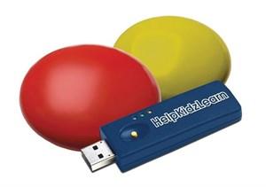 Комплект беспроводных кнопок с ресивером