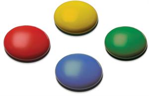 Комплект из 4х беспроводных кнопок 75мм Smoothie SimplyWorks