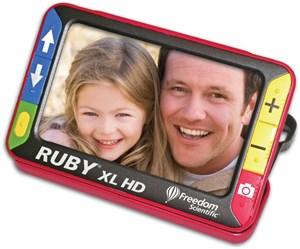 Электронный ручной видеоувеличитель (ЭРВУ) RUBY XL HD