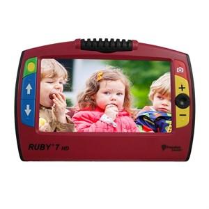 Электронный ручной видео-увеличитель (ЭРВУ) RUBY 7HD