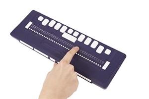 Портативный тактильный дисплей Брайля ALVA 640 Comfort