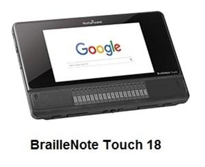 Брайлевский органайзер BrailleNote Touch 18/32