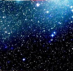 "Ковер ""Звездное небо"" 100х100  100 волокон"