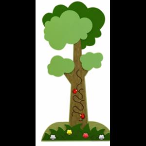Дерево - декоративно-развивающая панель ИА22192