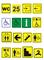 Тактильный знак пиктограмма туалет - фото 6894